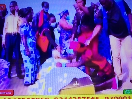 Apam Turns Red As 13 Children Who Drowned Last Week Get Mass Burial Today (Pics/Videos)
