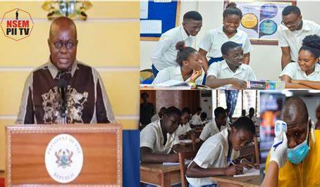 """""""I Am Passionate About The Education Of Every Child In Ghana"""" - President Akufo-Addo"""