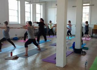 Yoga Classes Summer 2017