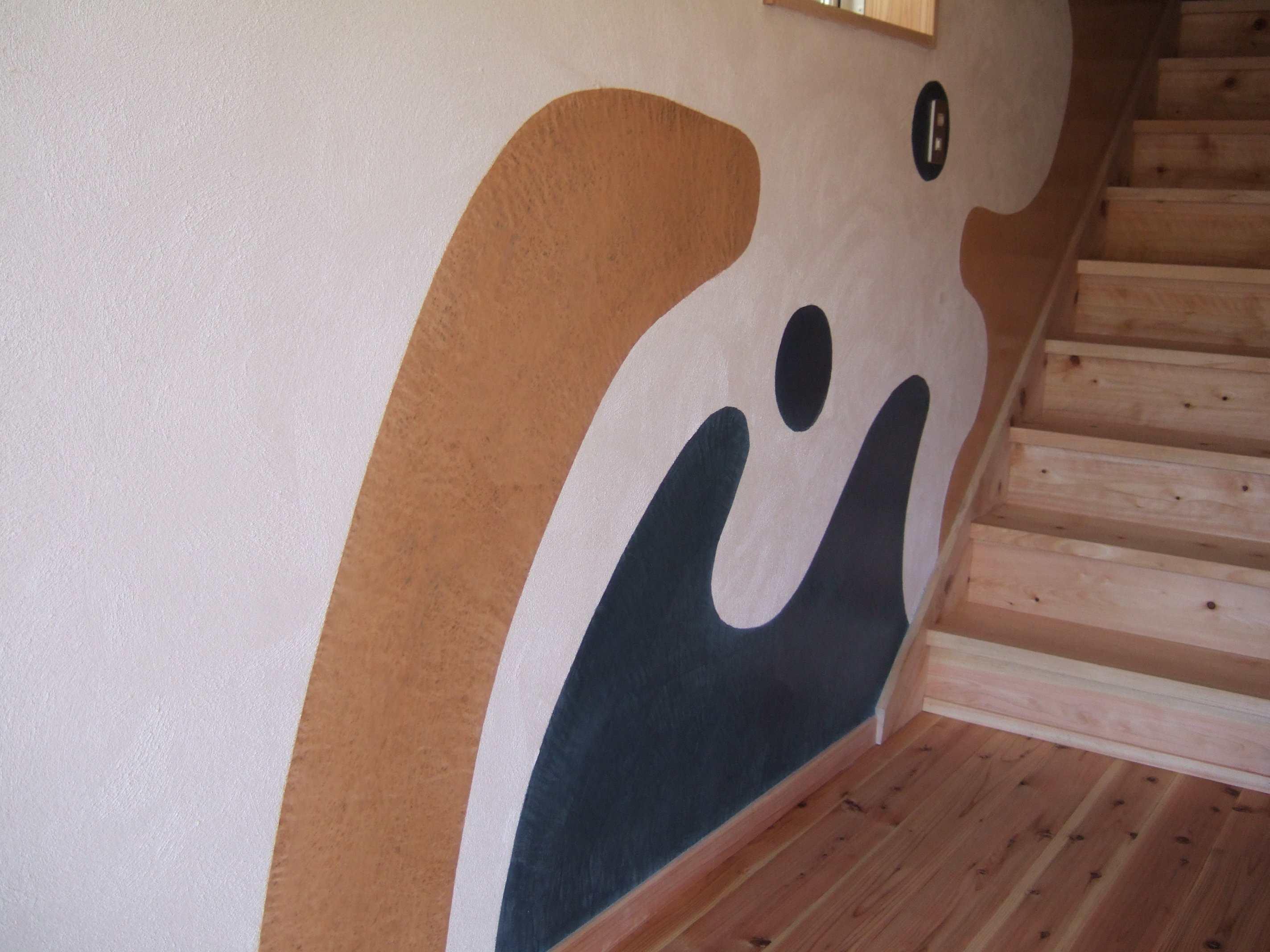 住宅の階段室