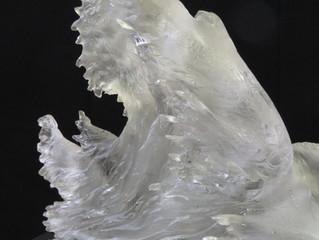 透明彫刻の仕事