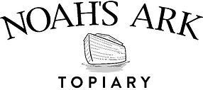 Noah's Ark Topiary logo - Made In Safety Harbor, Florida U.S.A.