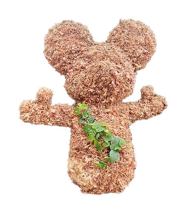 Standing Mouse Topiary - Planted