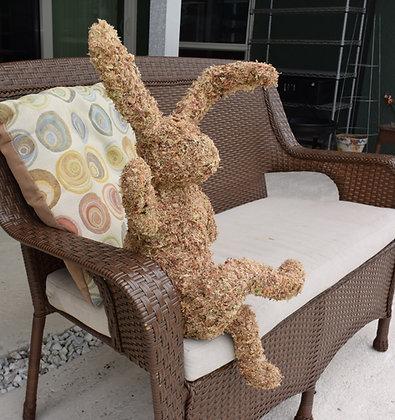 Crossed Leg Bunny - Stuffed