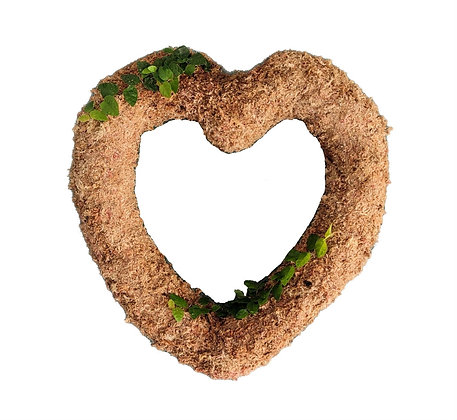 Heart Wreath Topiary - Planted