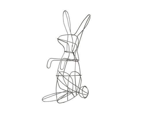Standing Bunny Topiary - Frame | Noah\'s Ark Topiary | Noah\'s Ark ...
