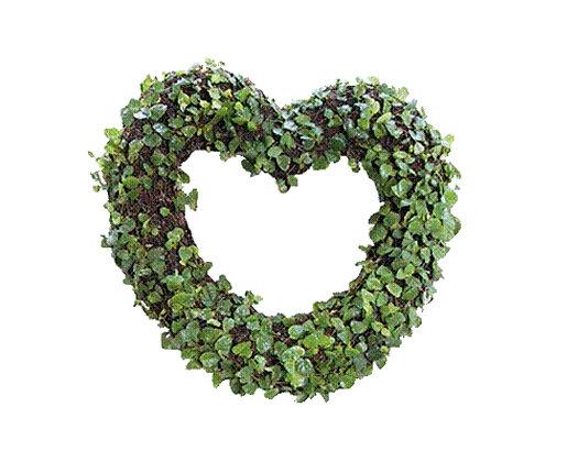 Heart wreath topiary - planted | Noah's Ark Topiary