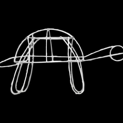 Medium Turtle Topiary - Frame | Noah\'s Ark Topiary