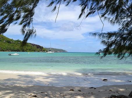 De Seychellen in de Indische Oceaan