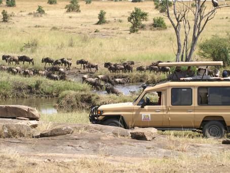 Ondertussen in Kenia ...