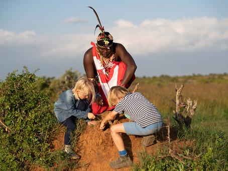 Met je kinderen op safari in Oost-Afrika