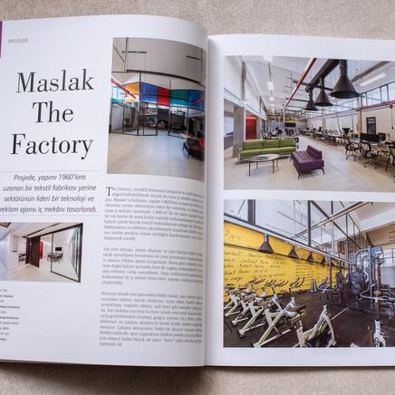 Maslak The Factory, Yapı Dergisi