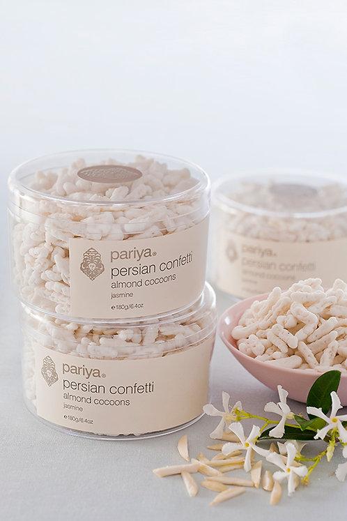 Persian Confetti - Almond Cocoons Rose petal