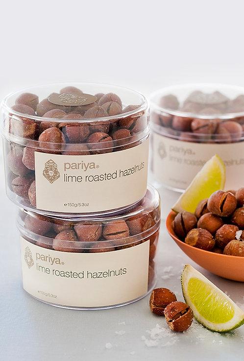 Lime Roasted Hazelnuts