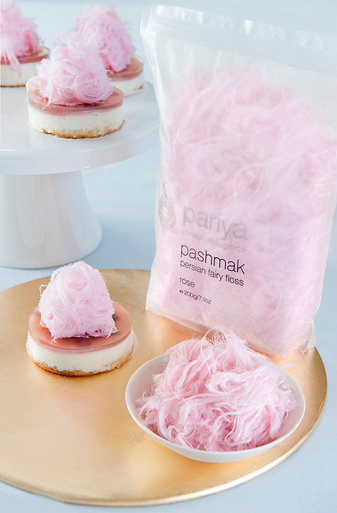 Persian Fairy Floss - Rose