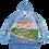 "Thumbnail: Jacket -Hoodie Sochi Fun Map/Куртка ""Худи""Карта Веселый Сочи"""