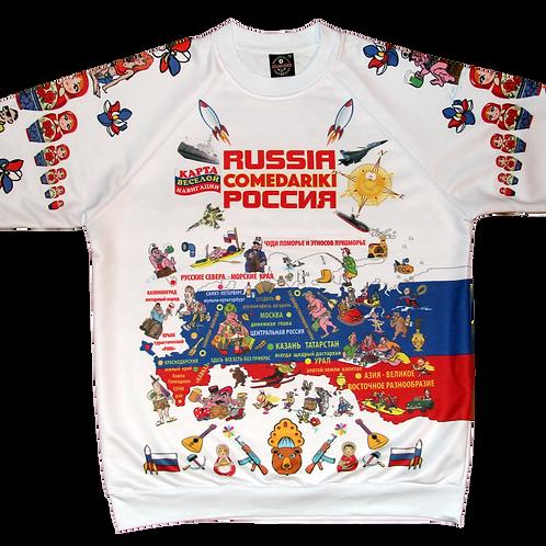 Sweet-Shirt Russia Fun Club/Свитер Клуба Веселая Россия