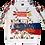 Thumbnail: Sweet-Shirt Russia Fun Club/Свитер Клуба Веселая Россия
