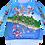 Thumbnail: Sweet-Shirt Sochi Fun Map/Свитер Карта Веселый Сочи