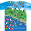 Thumbnail: T-shirts Sochi Fun Map/Футболка Карта Веселый Сочи#Комедарики