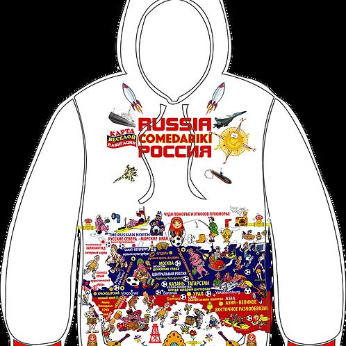 "Jacket-Hoodie Russia Fun Club/Куртка ""Худи""Клуба Веселая Россия"