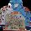"Thumbnail: Jacket-Hoodie Russia Fun Map/Куртка ""Худи"" Веселая Карта Россия"""