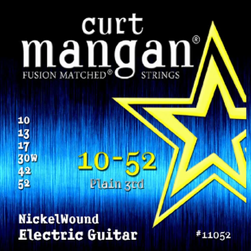 CM 10-52 Nickel wound Electric Strings