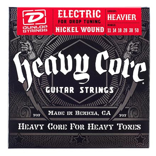 Dunlop Heavier Heavy Core Guitar Strings