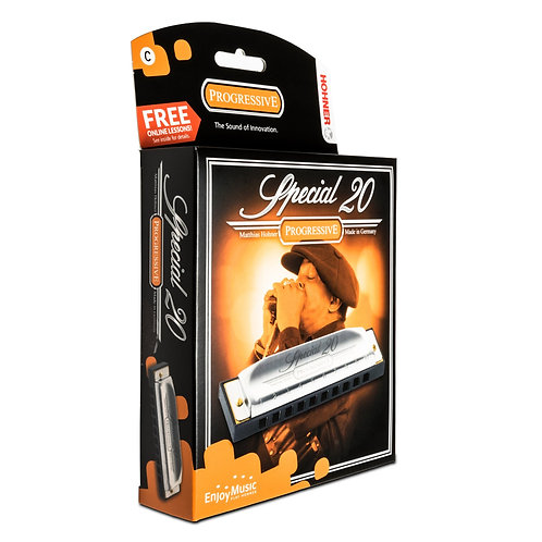 D Special 20 Hohner Harmonica