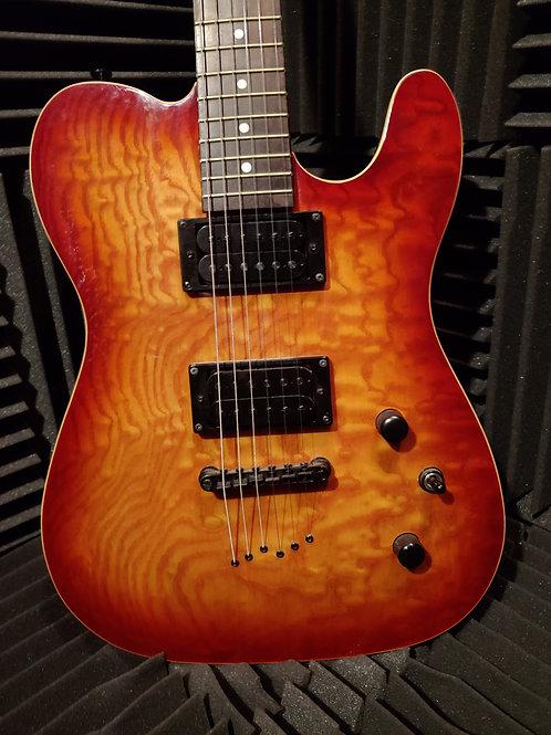 Deltatone Telecaster Electric Guitar