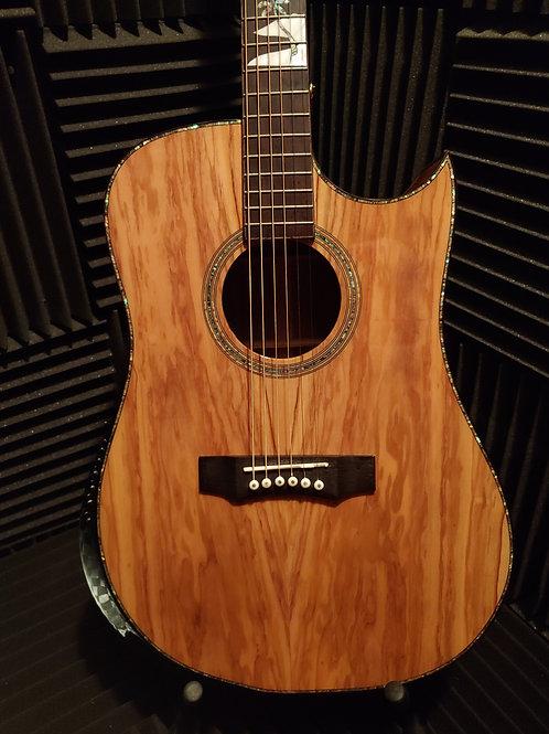 FGC Olivewood Acoustic Guitar