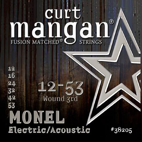 CM 12-53 Monel Electric/Acoustic String