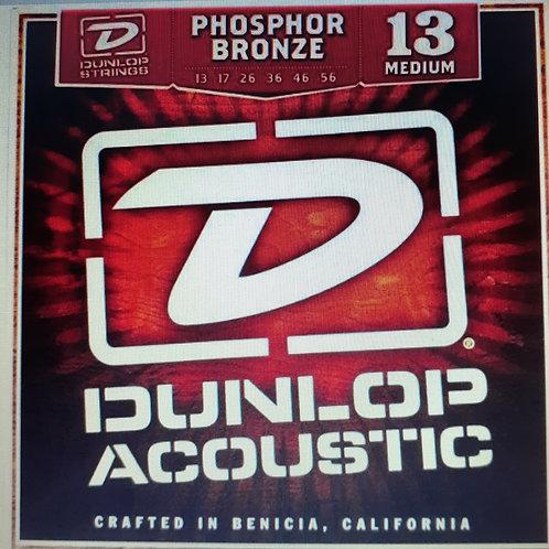 Dunlop 13 Medium Phosphor Bronze Acoustic