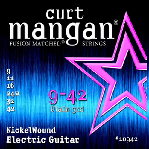 CM 9-42 Nickel wound Electric Strings