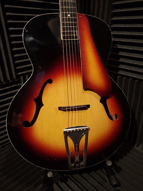Recco Teisco Arch Top Acoustic Guitar