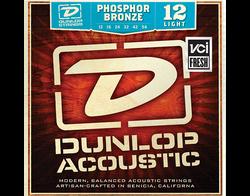 03073  Dunlop 12 Light Phosphor Bronze .