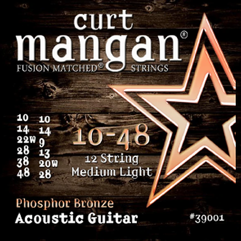 CM 10-48 Phosphor Bronze 12 String Acoustic