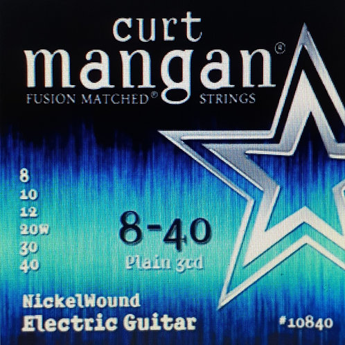 CM 8-40 Nickel wound Electric Strings