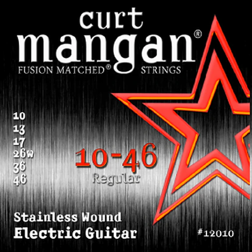 CM 10-46 Stainless Wound Electric Strings