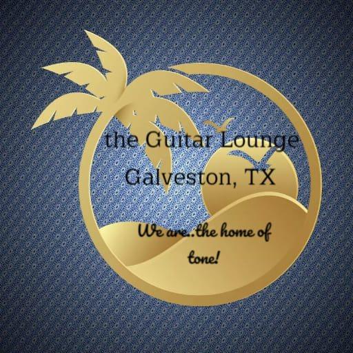 Guitar lounge Palm tree logo