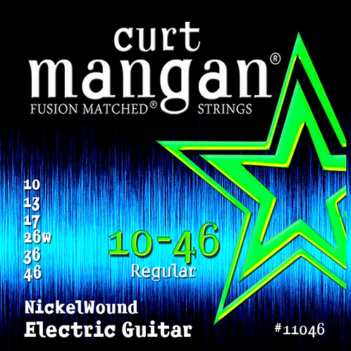 CM 10-46 Nickel wound Electric Strings
