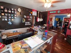 Guitar Lounge counter