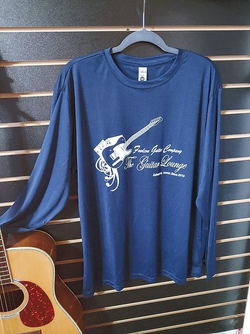 Guitar Lounge Long Sleeve Shirts