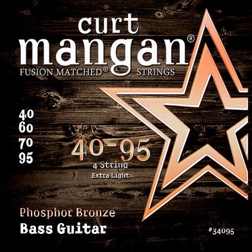 CM 40-95 Phosphor Bronze 4 String Bass