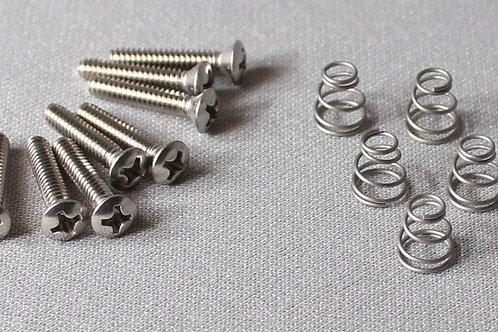 Pack of Steel Single Coil Pickup Screws