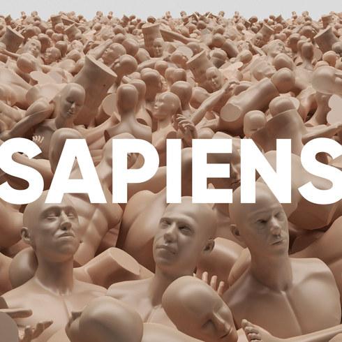 """L'Or du Commun """"Sapiens"""" Official album cover"""