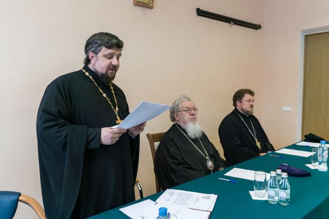 Правящий Архиерей возглавил общее собрание преподавателей Воронежской духовной семинарии