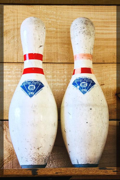 Vintage Ten Pin Bowling balls