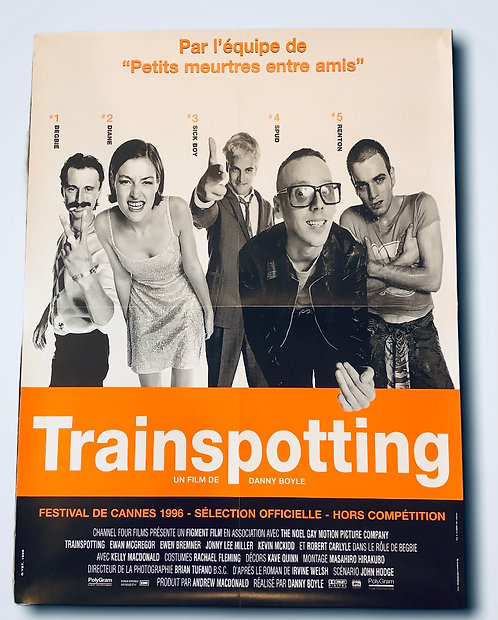 Trainspotting Original French Film Poster
