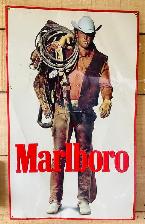 Vintage Tin Advertising Sign